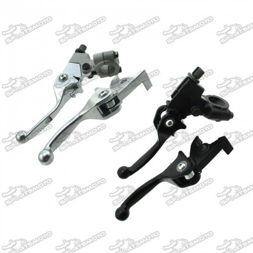 Folding Brake Hadle Clutch Lever For 50cc-190cc Dirt Pit Bike Stomp SSR Atomic Piranha