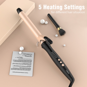 Hot Tools Liberex Nano Ceramic Tourmaline Curling Iron 1