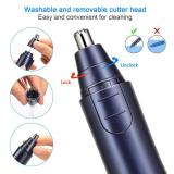 Electronic Nose Ear Hair Trimmer-Blue