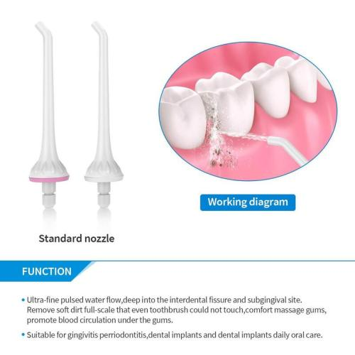 Replacement Heads for Liberex Flosser Sonic Electric Toothbrush Combo