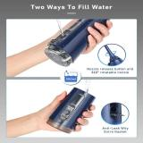 Liberex FC2660S DIY & OLED Cordless Water Flosser-Navy Blue