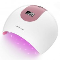Professional LED Nail Dryer with Smart Sensor, LCD Display, 4 Timer Settings