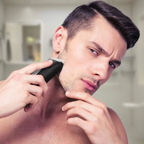 Liberex Beard Trimmer Hair Clipper with 9 Adjustable Trim Settings Battery Operated