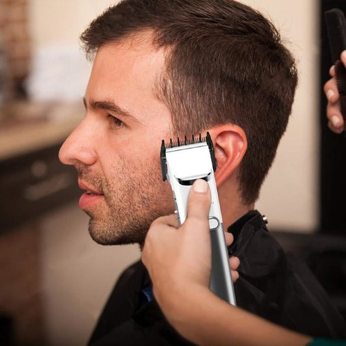 Liberex Cordless Hair Clippers for Men Wireless Grooming Set,4 Guide Combs, Charging Base