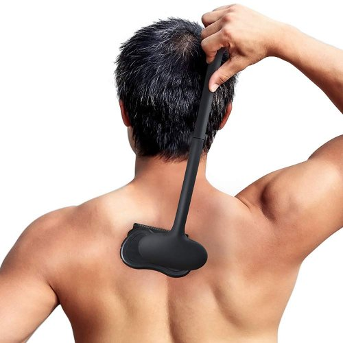 Liberex Back Hair Remover Body Shaver DIY Trimmer for Men