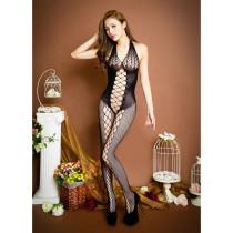 性感絲襪網紋連體衣
