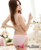 粉紅露咪咪+小片內褲