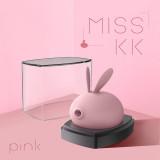 kiss toy 萌兔吸吮按摩器外部刺激_粉色