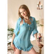 淺藍淑女內衣