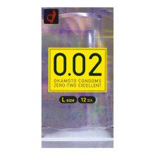 岡本0.02 超薄12個裝 (大碼)