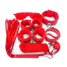 日本SM即刻束縛紅色套裝7件組