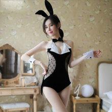 黑色兔女郎套裝