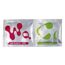 日本GENMU熱感,冰感獨立包裝潤滑劑各1包