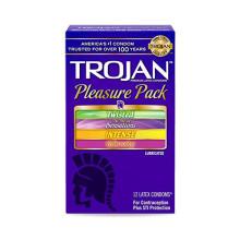 Trojan Pleasure Pack Box of 12 快感套裝 一盒十二個