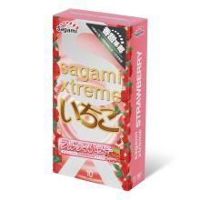 相模究極 香甜草莓 10 片裝 乳膠套