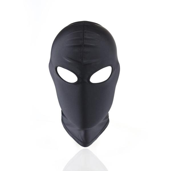 彈性透氣戶外CS角色扮演蒙臉頭套(黑色露眼M碼)