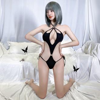 性感泰迪黑三點式內衣