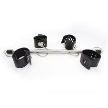 黑色可拆卸鋼管手腳束縛套裝