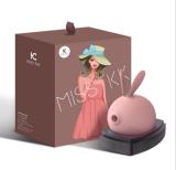 kiss toy 萌兔吸吮按摩器外部刺激_紫色
