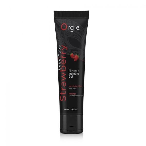 葡萄牙 Orgie Lube Tube 草莓 潤滑劑-100ml