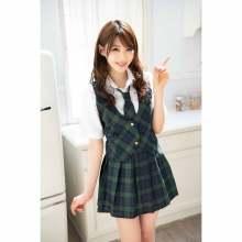 日本女優相澤南人氣夏季校服套裝