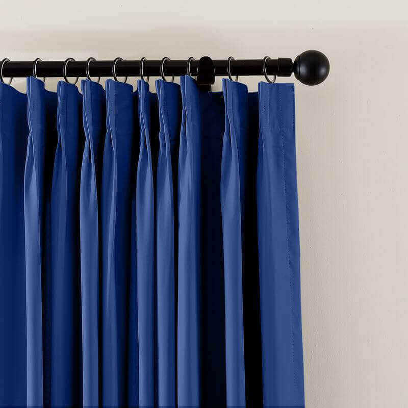 Fireproof Flame Retardant Thermal Insulated Curtain Drapery Panel Pinch Pleat