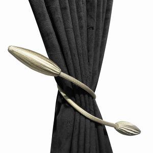 Set of 2 Curtains Tieback Adjustable Holders Decorative Drapes Weave Holdback
