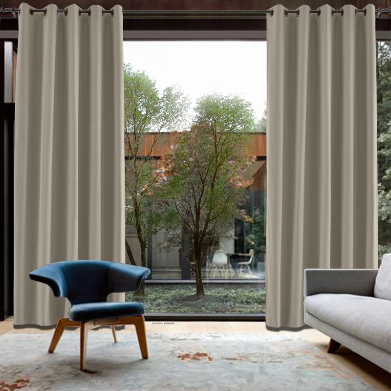 CUSTOM Capri Cashmere Blackout Curtains with Liner