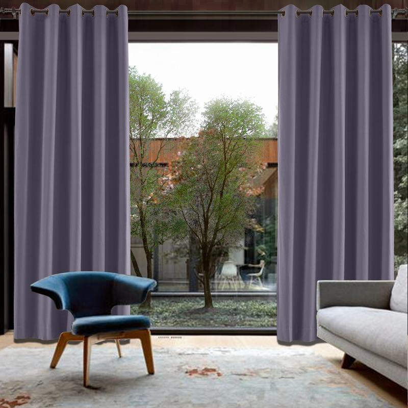 CUSTOM Capri Violet Blackout Curtains with Liner