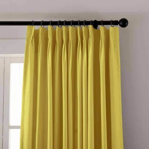 Pinch Pleated Outdoor Curtain