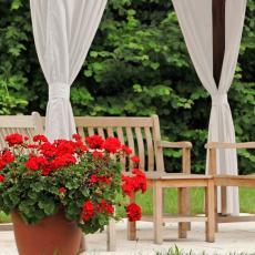 EDITH Outdoor Curtain Waterproof Rustproof Fading Resistant Drapery Patio Curtains