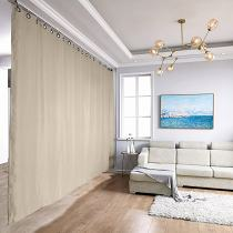 Ceiling Track Room Divider Curtain Kit for Any Space, PAZ + LORA