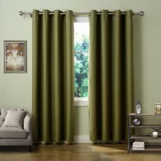 PAZ Custom Solid Polyester Indoor Blackout Curtain Drapery
