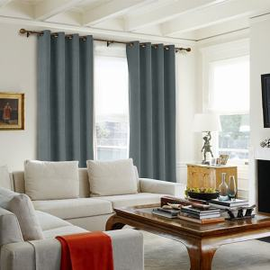 KANTE Polyester Cotton Drapery Curtains