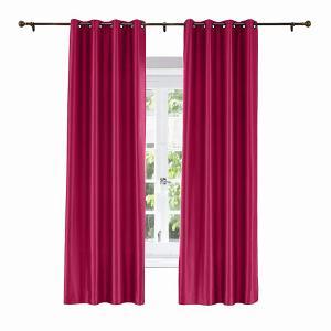 LHZ Polyester Cotton Silk  Curtain Drapery