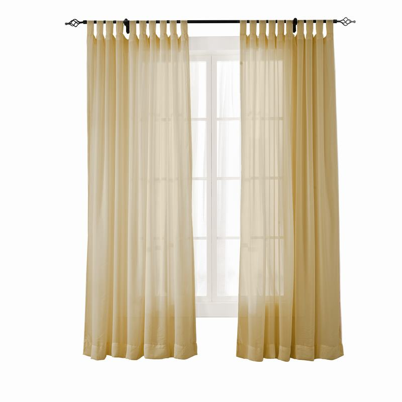 Scandina Indoor Outdoor Sheer Curtain Voile Drapery