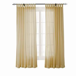 SCANDINA Indoor Outdoor Sheer Curtain Voile Drapery