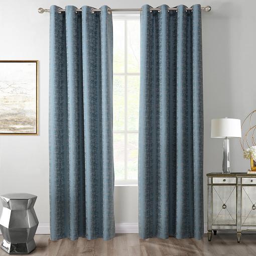 Woodgrain Jacquard Curtain Drapery SANDER