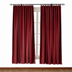 OLIVE Luxury Textured Faux Linen Curtain