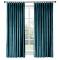 Green velvet curtain