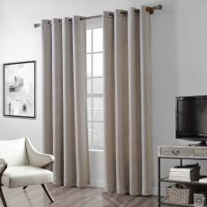 Polyester Chenille Jacquard Curtain Wave Soft Handfeel Drape ZINGE
