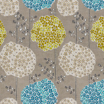 EMMETT Flowers Print Fabric Swatch Polyester Cotton, Refundable For Order Amount Over $399