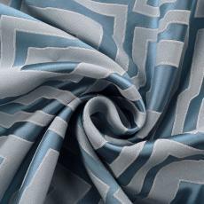 NINA Rhomboid Jacquard Fabric Swatch Refundable Order Amount Over $399