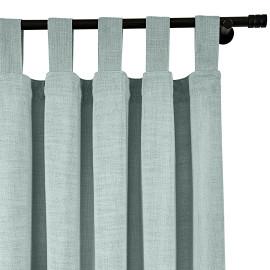 ISABELLA Cotton Linen Polyester Curtain Drapery Custom