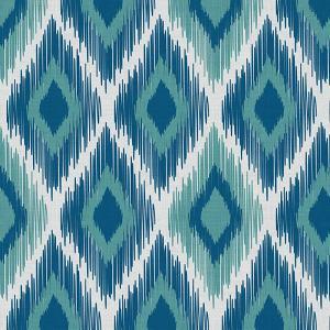 Geometric Print Polyester Linen Curtain Drapery CLIFF