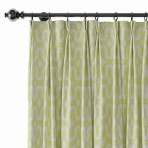 Abstract Print Polyester Linen Curtain Drapery BOBBY