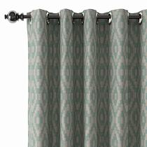 Abstract Print Polyester Linen Curtain Drapery CHARLOTTE