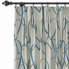 Love Print Polyester Linen Curtain Drapery CHRIS