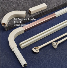90 Degree Angle Track Connectors