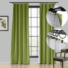 BIRKIN 4-in-1 Header Type Velvet Curtain Drapery Custom